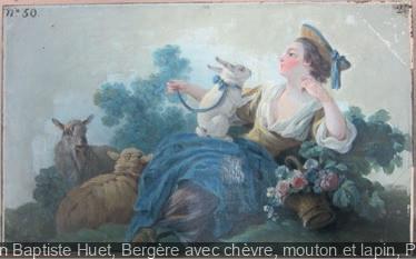 Jean-Baptiste Huet, le plaisir de la nature au Musée Cognacq-Jay