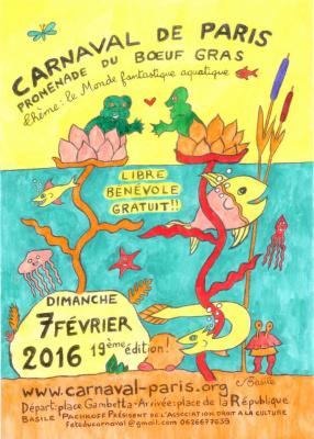 Le Carnaval de Paris 2016