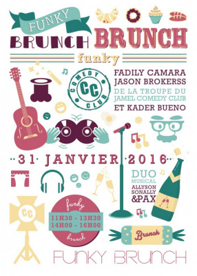 Le funky Brunch au Comedy Club