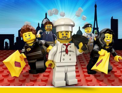 Paris en LEGO® au LEGO® Store du Forum des Halles