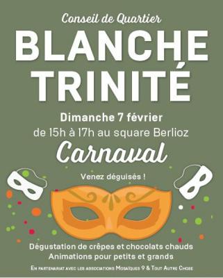 Carnaval 2016 de la mairie du 9e - quartier Blanche-Trinité