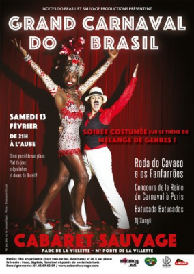 Grand Carnaval Do Brasil 2016 au Cabaret Sauvage