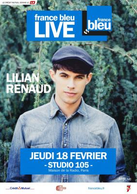 France Bleu Live avec Lilian Renaud