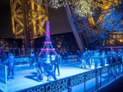 Saint Valentin 2016 sur la Tour Eiffel