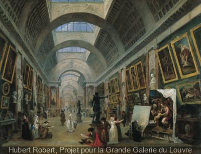 Hubert Robert au Musée du Louvre