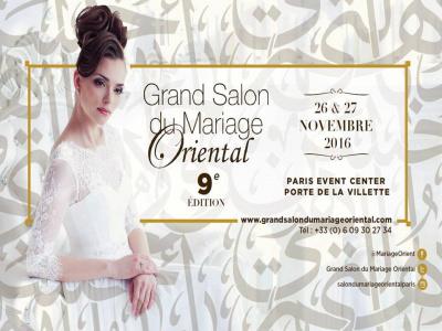 Le grand salon du mariage oriental 2016 paris - Salon du mariage oriental ...