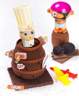 Pic Pirate, le chocolat de Pâques 2016 du Burgundy