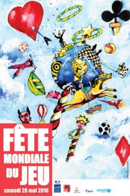 La Fete Mondiale du jeu 2016 à Paris