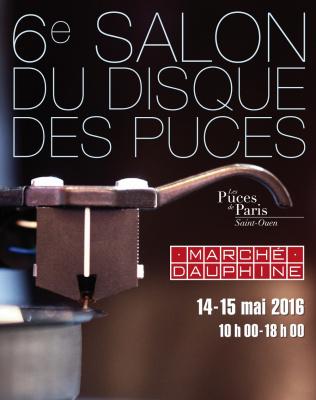 Salon du disque des Puces de Paris Saint-Ouen 2016