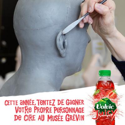 Avoir sa statue de cire à Grévin, la #PetiteVictoire de l'été !