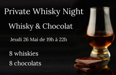Atelier dégustation Chocolat et Whisky avec Kokoroe