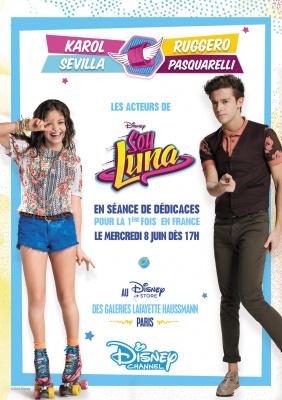 Soy Luna : rencontrez les héros de la série Disney Channel !