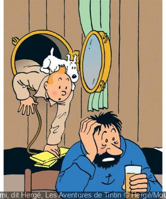 Hergé au Grand Palais, l'exposition
