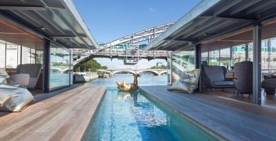 OFF Paris Seine, l'hôtel flottant sur la Seine
