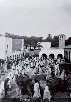 Biskra, ville oasis, escale d'artistes à l'Institut du Monde Arabe