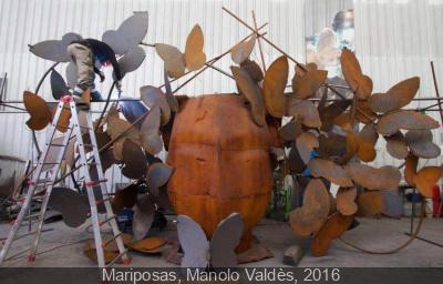 Les femmes de Manolo Valdés Place Vendôme