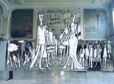 Nuit Blanche 2016: Alain Séchas, En attendant Poliphile