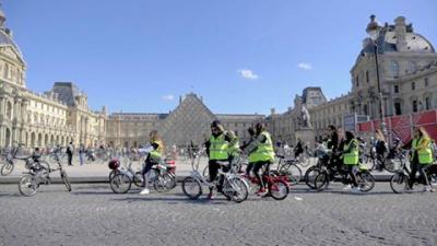 une balade en vélo électrique Velair