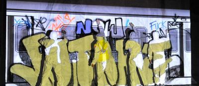 Nuit Blanche 2016 à la Gare de Nanterre Université
