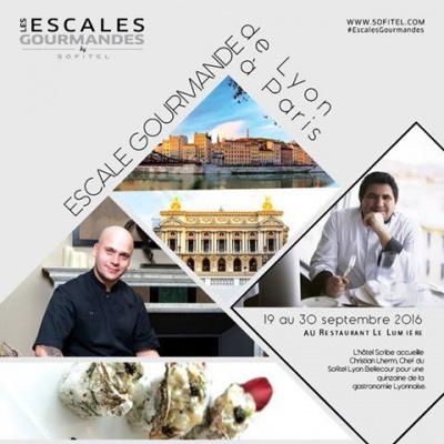 Les Escales Gourmandes à l'Hôtel Scribe Paris