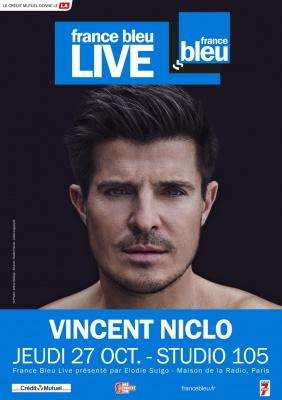 France Bleu Live avec Vincent Niclo