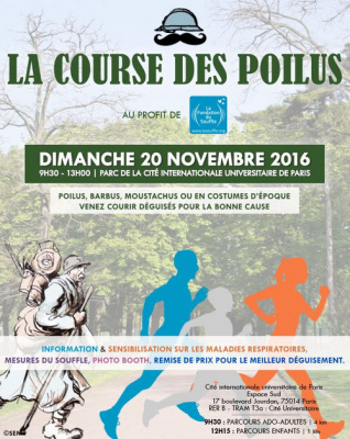 La Course des Poilus arrive à Paris !