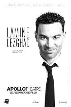 Lamine Lezghad ne s'interdit rien à l'Apollo Théâtre
