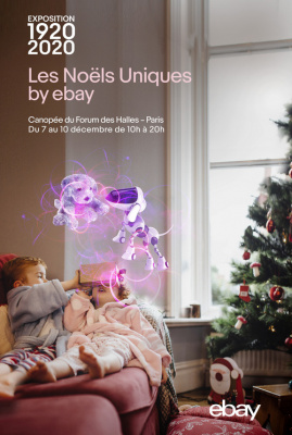 1920-2020, 100 ans de Noël, l'exposition aux Halles avec Ebay