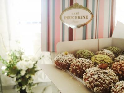 Pouchkinette, la boutique de choux signé Café Pouchkine