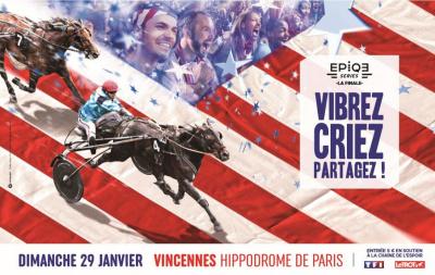 Le Grand Prix d'Amérique Opodo 2017 à l'Hippodrome de Paris-Vincennes