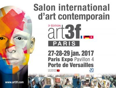 art3f Paris 2017, le salon international d'art contemporain