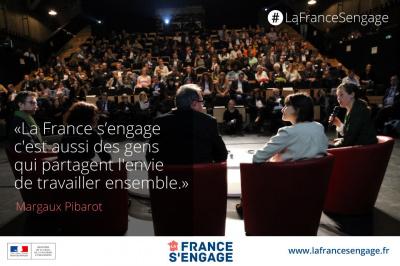 La France s'engage, le forum au Carreau du Temple
