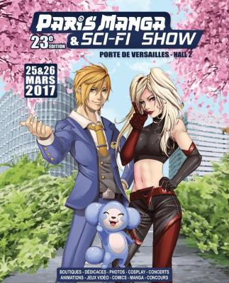 Paris Manga, 25 et 26 mars 2017