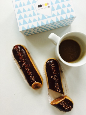 Christophe Adam x Artisan de la Truffe, l'éclair truffe-chocolat