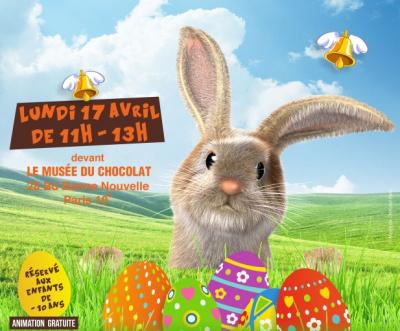 Pâques 2017, le Musée du Chocolat fait sa chasse aux oeufs