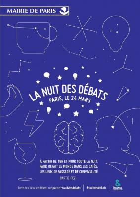 La Nuit des débats : organisez votre débat à Paris