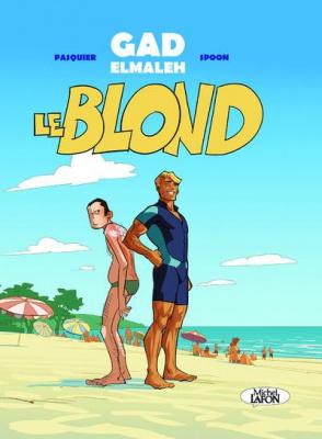 Gad Elmaleh en dédicace à la FNAC des Ternes pour la sortie de la BD Le Blond