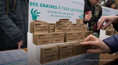 Distribution gratuite de 50.000 graines ce samedi