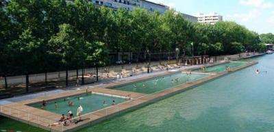 La baignade gratuite dans le Bassin de la Villette autorisée cet été !
