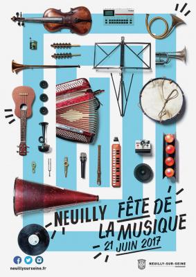 Fête de la Musique 2017 à Neuilly-sur-Seine