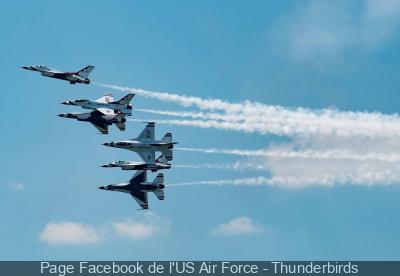 Défilé aérien du 14 juillet 2017 : l'US air Force aux côtés de la Patrouille de France