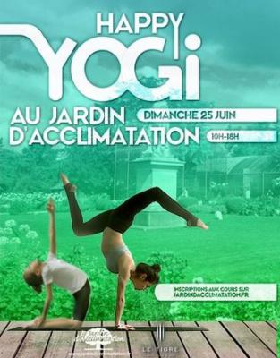 Happy Yogi, les initiations yoga en famille au Jardin d'Acclimatation