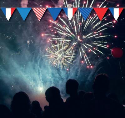 Feu d'artifice du 14 Juillet 2017 à Arcueil