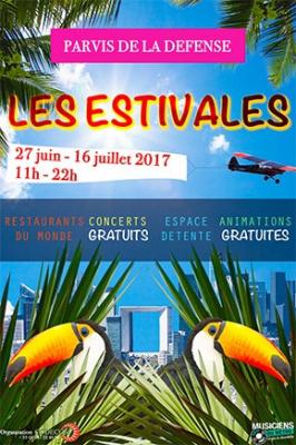 Les Estivales de la Défense : restos, concerts et afterworks!