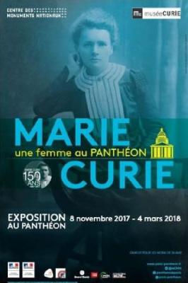 Marie Curie, la première femme au Panthéon, l'exposition anniversaire