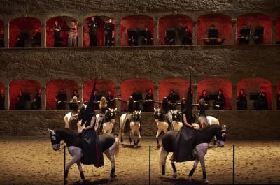 Le Requiem de Mozart, l'Académie équestre de Versailles en ballet équestre