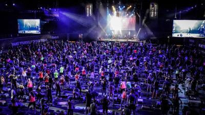 Les Mills Live x Reebok, le festival fitness à l'Olympia de Paris