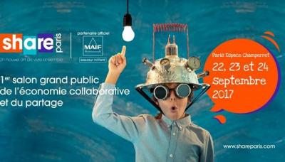 Share paris le salon de l 39 conomie du partage espace for Salon e learning porte de champerret
