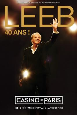 Michel Leeb fête ses 40 ans de carrière au Casino de Paris