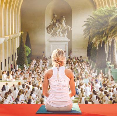 Les Yogis du Coeur 2017 à l'Orangerie de Versailles